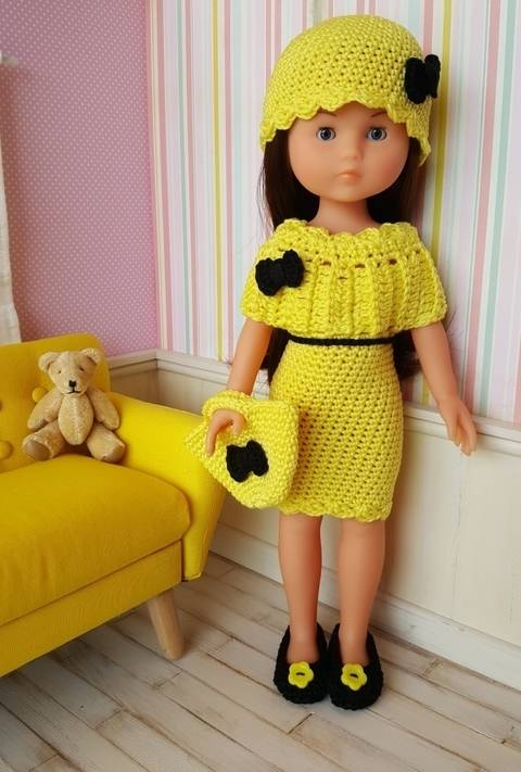 Maddy for 32-33cm Doll