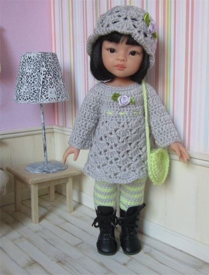 Clarisse a crochet pattern for 32-33cm Doll at Makerist - Image 1
