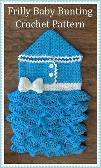 Frilly Baby Bunting at Makerist - Image 1