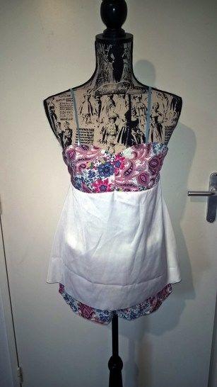 Pyjashort Bridget taille 34 à 46 chez Makerist - Image 1