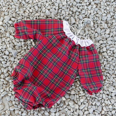 Raglan baby romper - long and short sleeves - with VIDEO