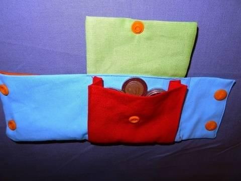 Mini Geldbörse Portemonnaie Handgelenktasche  bei Makerist