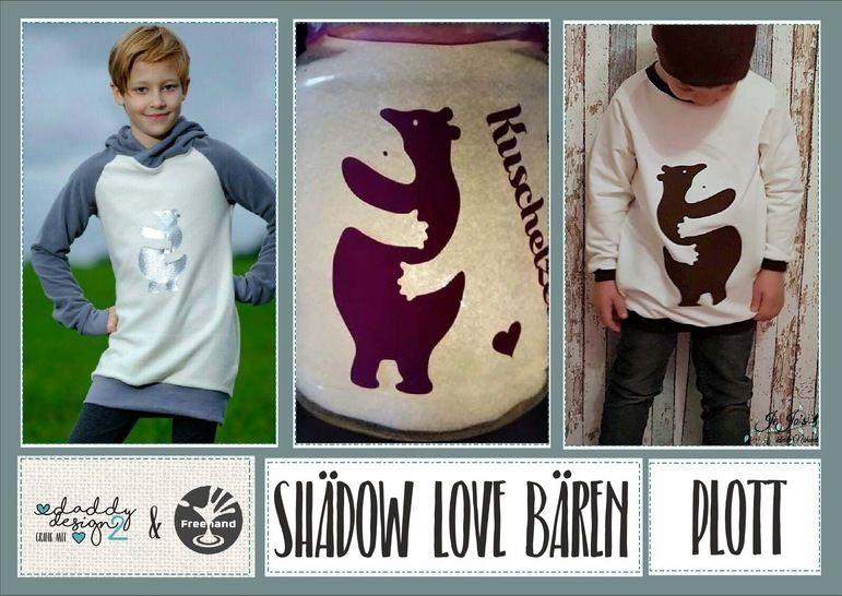 Shädow Love Bären - Schatten-Bären - Plott-Illusion bei Makerist - Bild 1