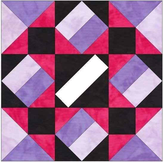 Extravaganza 10 Inch Paper Piece Quilting Foundation Pattern at Makerist - Image 1