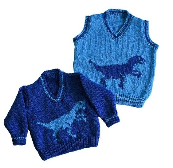 Dinosaur V-Neck Tops at Makerist - Image 1