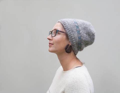 Mütze Grey Matters (Strickanleitung) bei Makerist