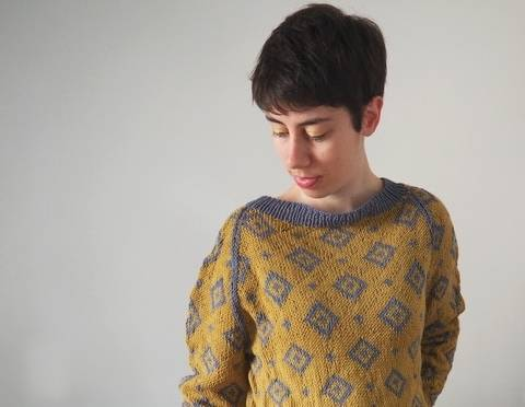 Pull Demetrios - explications tricot chez Makerist