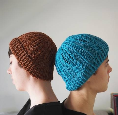 Bonnet Doppelganger - explications tricot chez Makerist