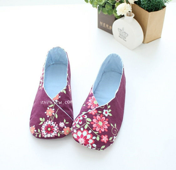 #158 Woman's Kimono Shoes PDF Pattern at Makerist - Image 1