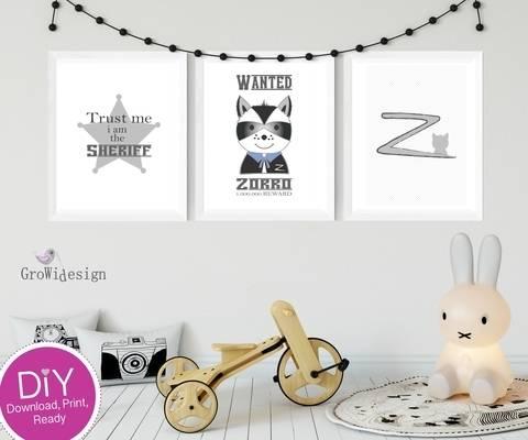 """DIY Poster """"Zorrobär"""" bei Makerist"""