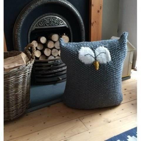 Owl Floor Cushion at Makerist