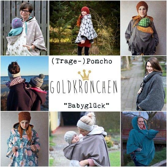 (Trage-) Poncho Babyglück Ebook Gr.32/34 - 54/56 bei Makerist - Bild 1