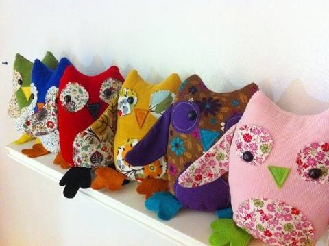 2-in-1 Owl Puppet and Plushie Sewing Pattern