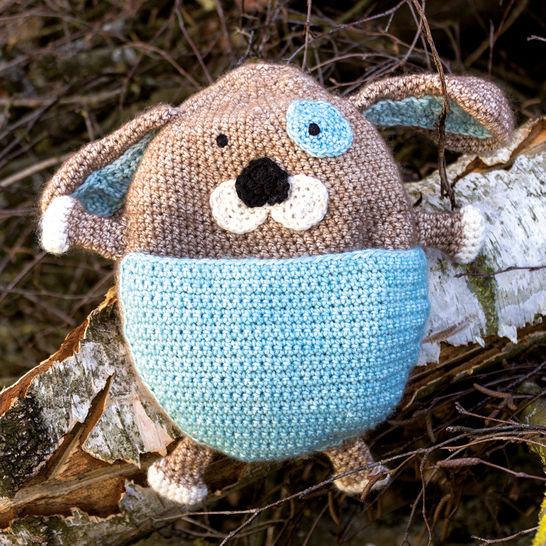 Wärmekissen und Schmusetuch Barry der Hund - Häkelanleitung bei Makerist - Bild 1