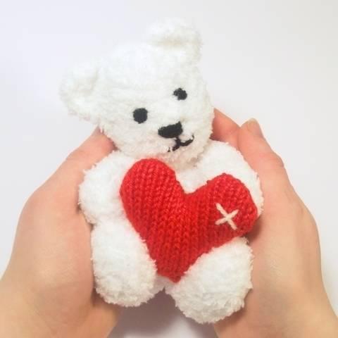 Little Valentine's Teddy Bear at Makerist