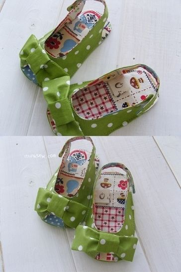 #187 Anabelle Baby Sandals PDF Pattern  at Makerist - Image 1