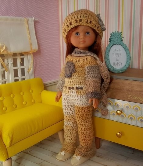 """Agathe"" for 32-33 cm doll at Makerist - Image 1"
