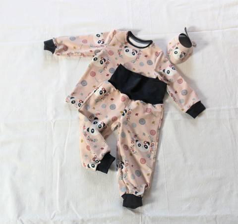 eBook: Set für Kinder & Babies nähen (Größe 62 - 68) Shirt, Hose, Halstuch