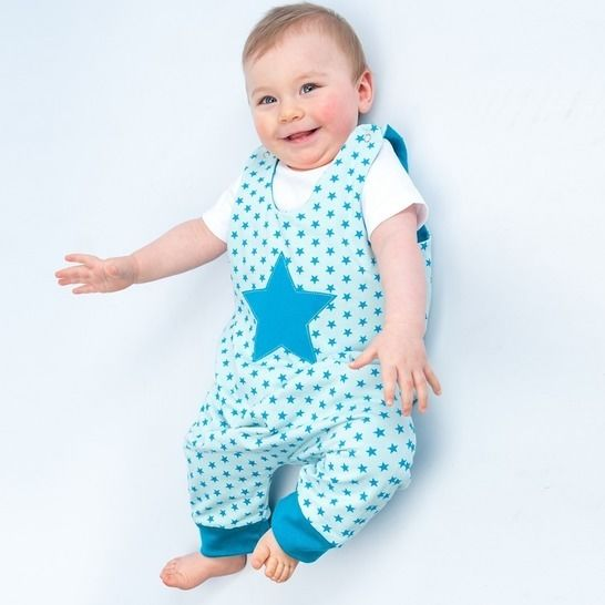 ALBERTO Baby jumpsuit pattern, overall, lined, reversible at Makerist - Image 1