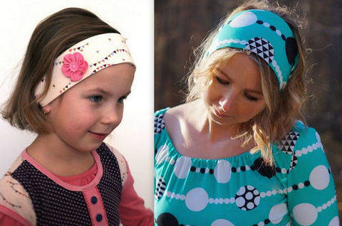 EBook Hair band NILA incl. Tutorial FLOWER
