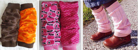 eBook Triple Cuffs (Leg warmers) Size DEU 86-98 to 158-170 (S) UK/US 24month-S