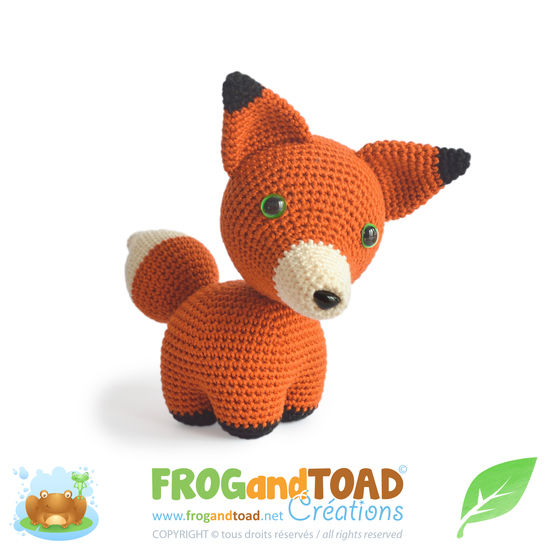 Fox - FARGO the Fox - Amigurumi Crochet Pattern - American terminology at Makerist - Image 1
