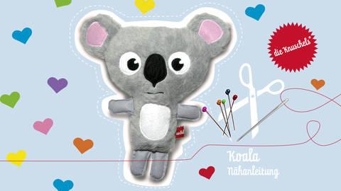 """Koala Nähanleitung und Schnittmuster von """"die Knuschels"""" bei Makerist"""