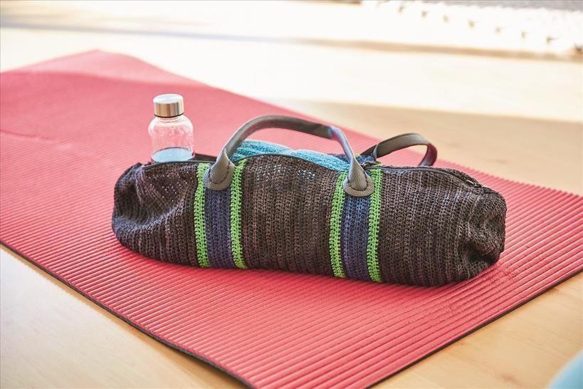 Gehäkelte Fitnesstasche  bei Makerist - Bild 1