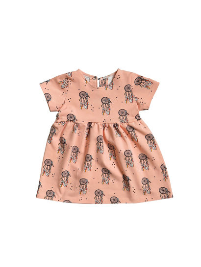 Girl's dress sewing pattern, baby dress pattern at Makerist - Image 1