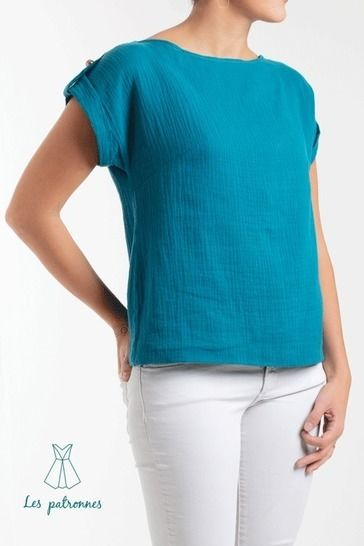 Judd top Pattern - Women easy to sew top -Beginner at Makerist - Image 1