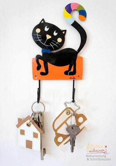 Fröhliche Schlüsselband-Anhänger  bei Makerist - Bild 1