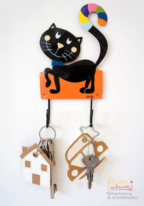 Fröhliche Schlüsselband-Anhänger  bei Makerist