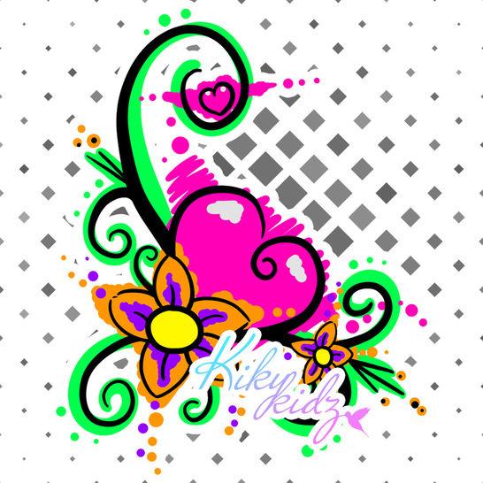 Blumenranke - Plottdatei - Kikykidz bei Makerist - Bild 1