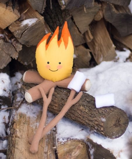 Bonfire, campfire toy at Makerist - Image 1