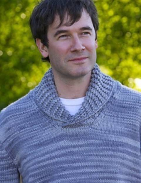 Wickaninnish man's pullover - hand knitting pattern