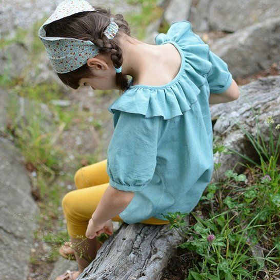 Driftwood Blouse + Dress Bundle (Baby & Child Sizes) at Makerist - Image 1