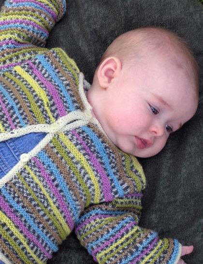 Chloë baby cardigan - hand knitting pattern at Makerist - Image 1