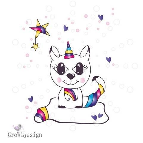 Rainbow Cat Plotterdatei