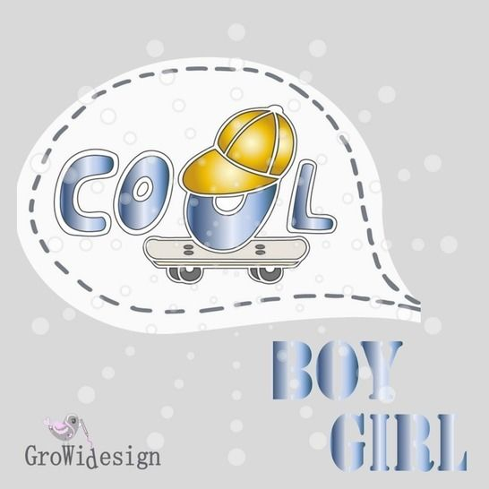 Cool Boy & Girl Plotterdatei bei Makerist - Bild 1