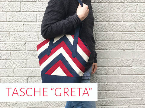 """Handtasche """"Greta"""" bei Makerist"""