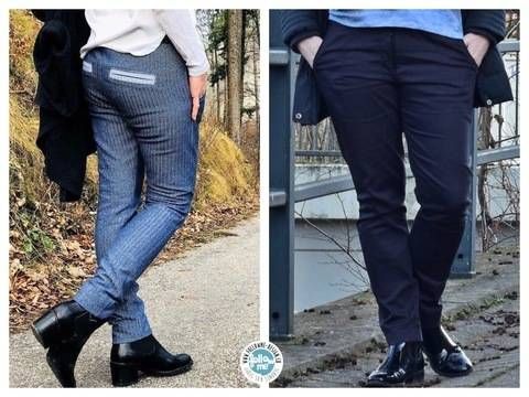 eBook Norma Jill - Tapered Fit Pant - die Hose mit Style bei Makerist