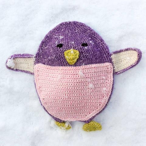 Wärmekissen und Schmusetuch Pippa Pinguin - Häkelanleitung bei Makerist