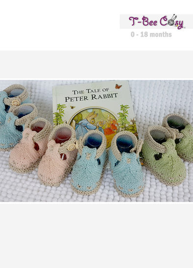BunnyKids Knitted Booties for 0 - 18 month old  at Makerist - Image 1
