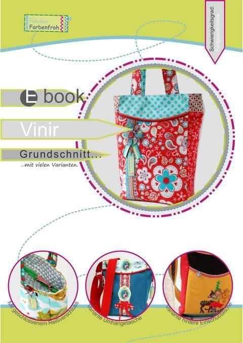 ebook Vinir ♥ ♥ ♥ Tasche mit vielen Varianten