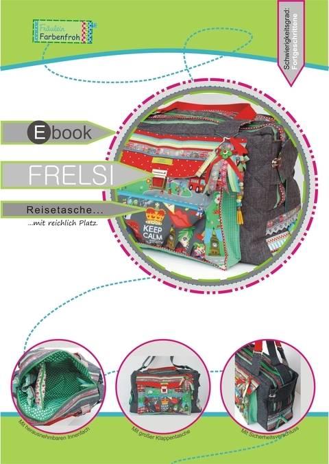 ebook FRELSI ♥ ♥ ♥ Reisetasche mit reichlich Platz