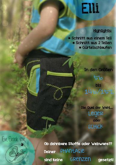 Ebook Susi`s kurze Kinderhose Elli bei Makerist - Bild 1