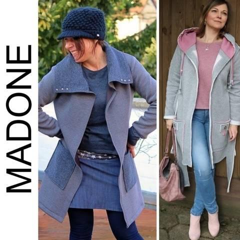 Ebook Cardigan MADONE Gr. XS-XXL  bei Makerist