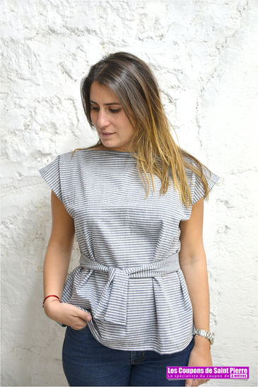 DIY - Un top facile en chambray chez Makerist - Image 1