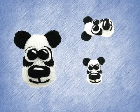 Puki der Panda (Schlüsselanhänger)