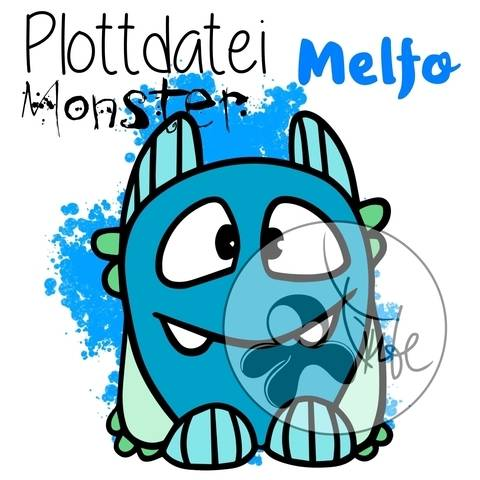 "Plottdatei Monster ""Melfo"""